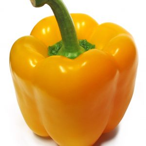 fresh yellow pepper